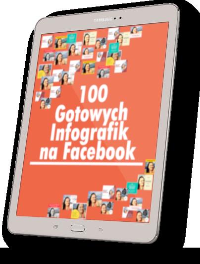 okladka 100 gotowych infografik na facebook